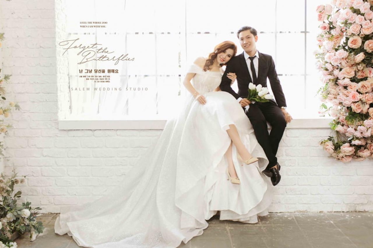 Áo cưới Salem - Nơi hạnh phúc bắt đầu