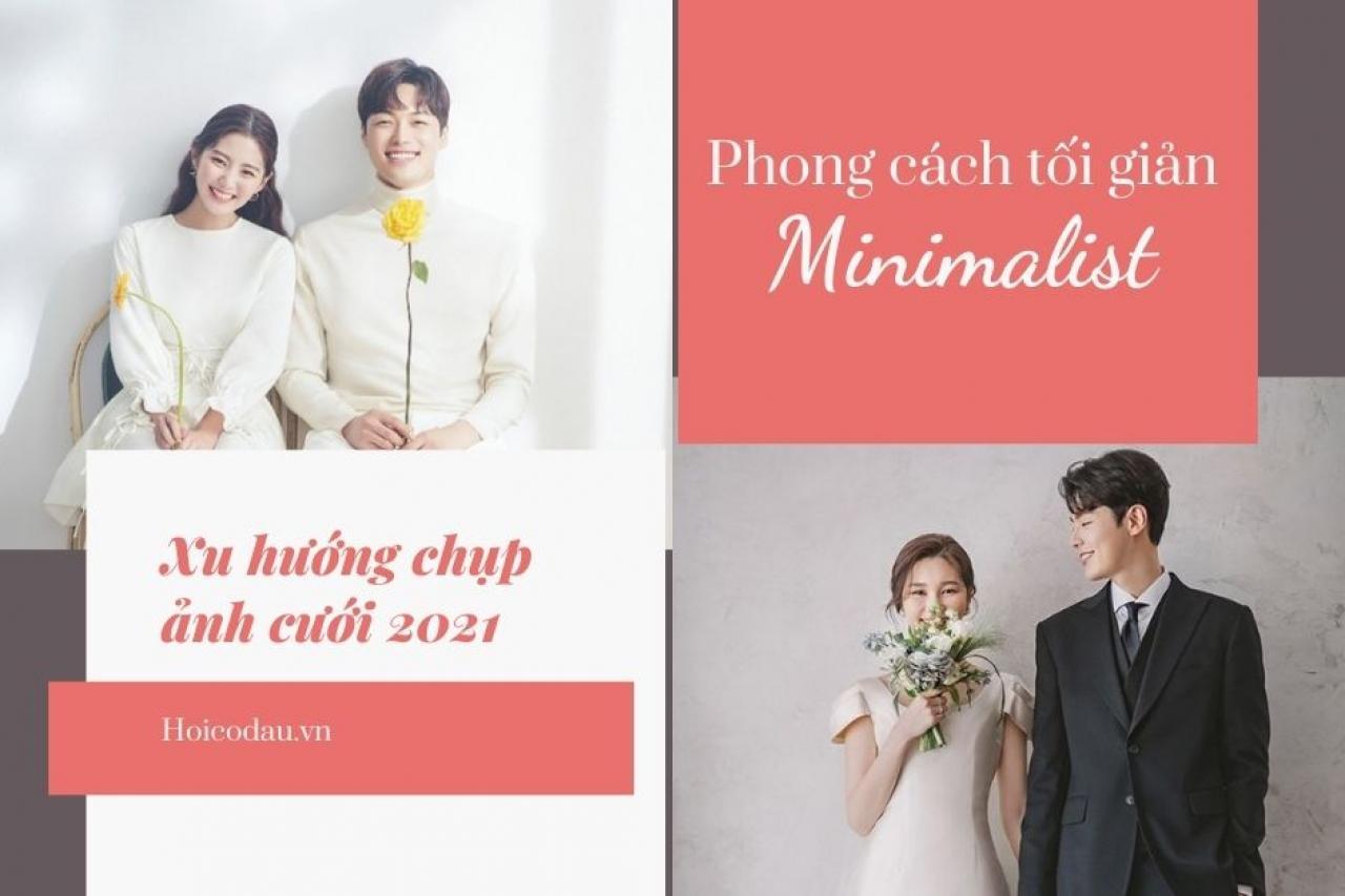 Ảnh cưới phong cách tối giản - Xu hướng chụp ảnh cưới lên ngôi 2021