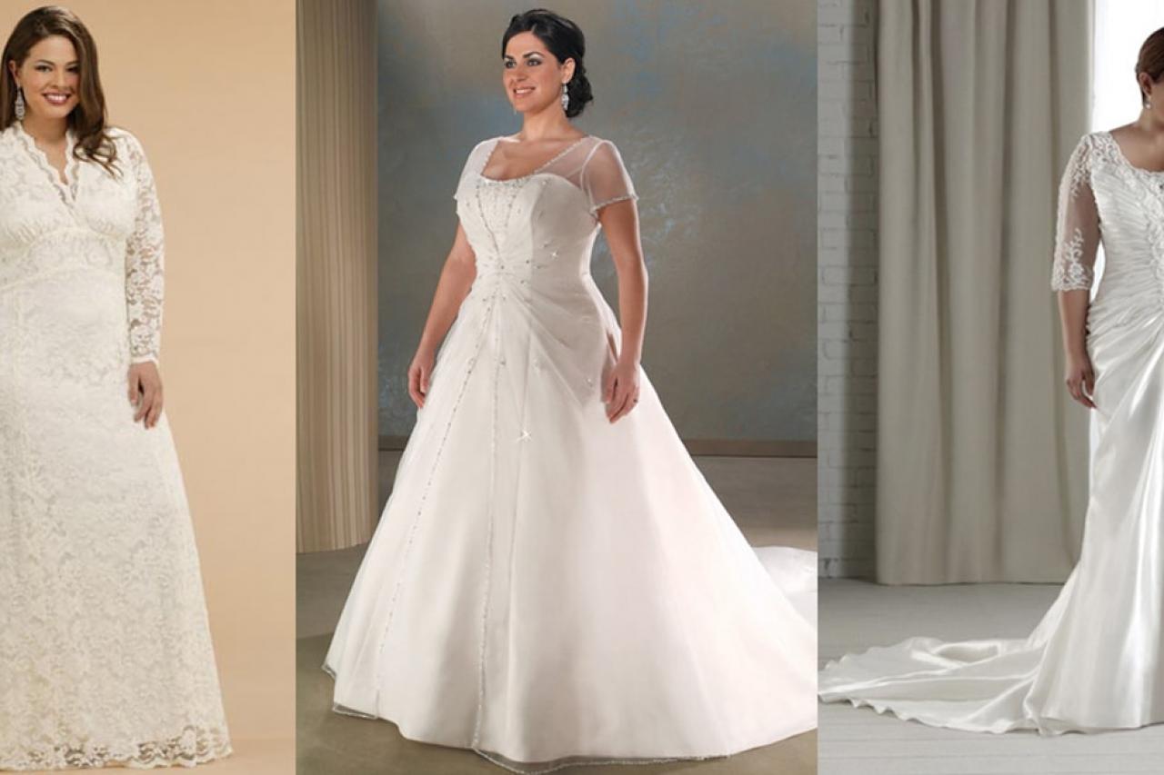 Tips chọn váy cưới dành cho cô dâu mũm mĩm