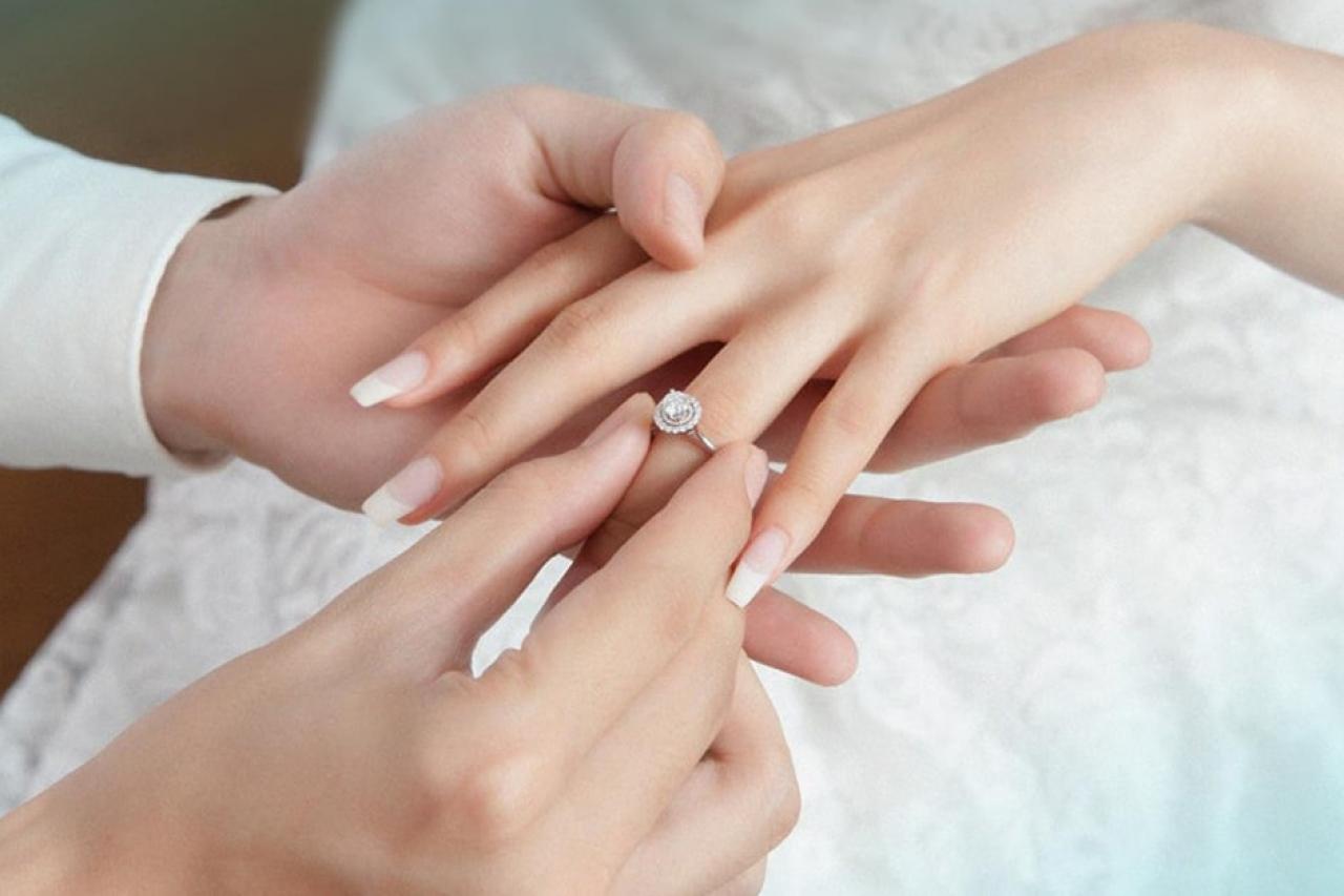 Nhẫn cưới và nhẫn đính hôn - Những điều có thể bạn chưa biết!