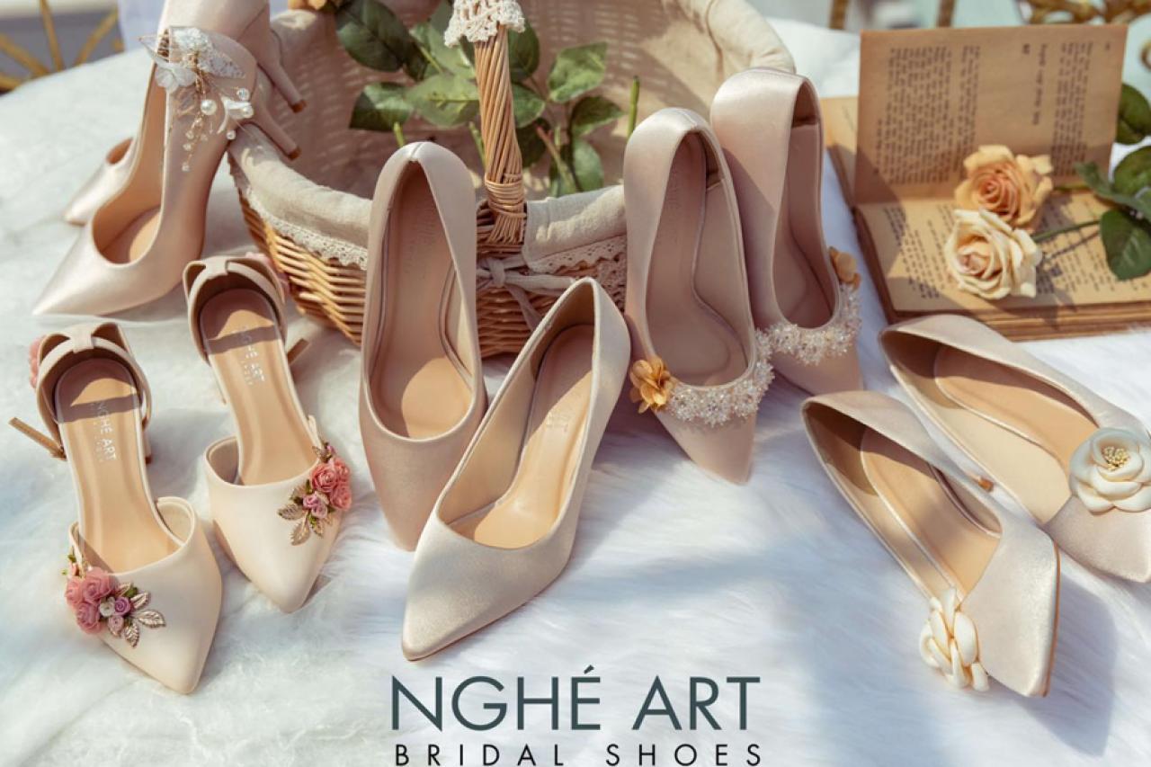 Nghé Art Bridal Shoes - Giày cưới Handmade