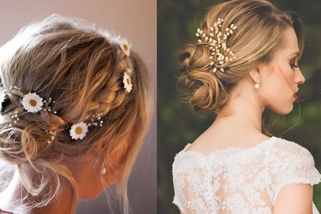 Gợi ý kiểu tóc cô dâu ngắn ngang vai đẹp lộng lẫy trong ngày cưới