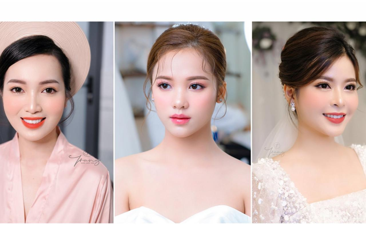 Trở thành cô dâu tỏa sáng và rạng rỡ nhất với Trang Makeup Bridal