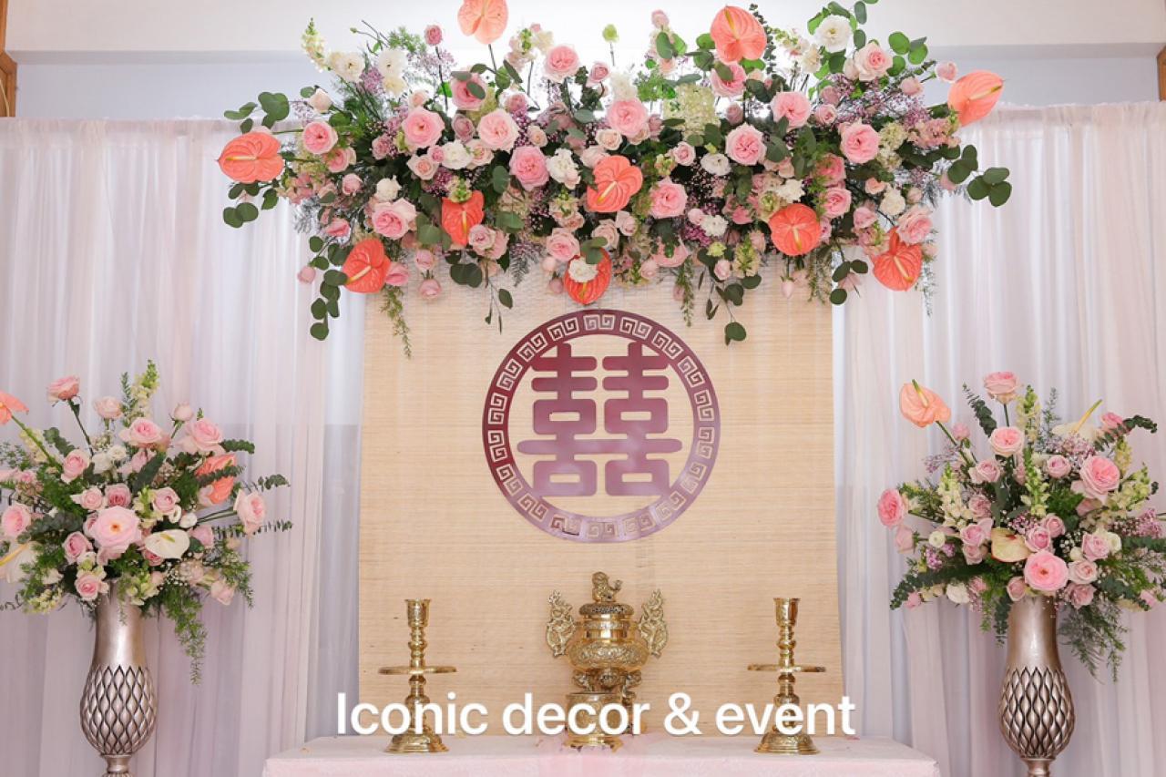 ICONIC DECOR & EVENT - Lựa chọn cho không gian gia tiên ngày cưới
