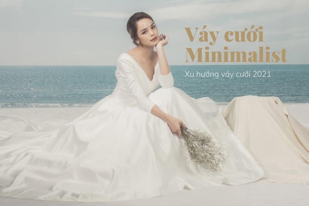 Váy cưới Minimalist – Xu hướng váy cưới lên ngôi 2021